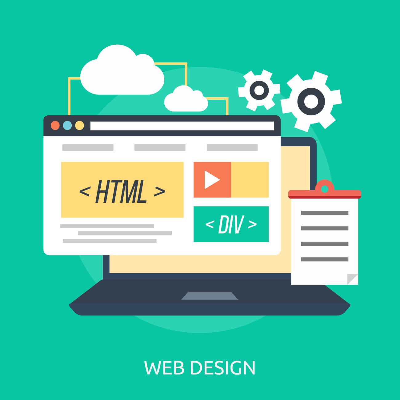 قالب های HTML در وب سایت های استاتیک