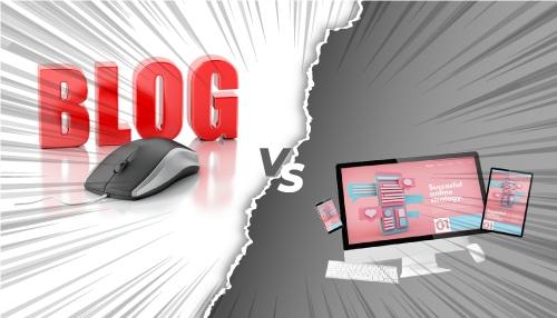 تفاوت وب سایت و وبلاگ چیست
