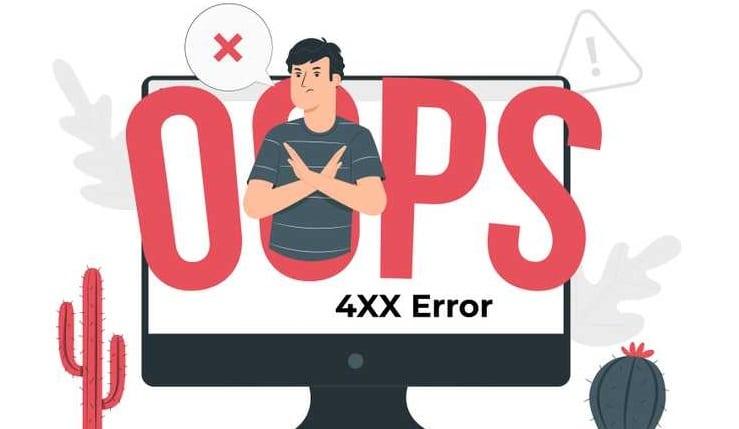 خطا 4xx Client Error