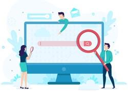 استفاده از فضای مناسب برای جستجو در سایت به عنوان یکی از نکات طراحی وب سایت