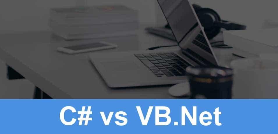 تفاوت C# و VB.NET چیست