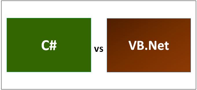 تفاوت C# و VB چیست
