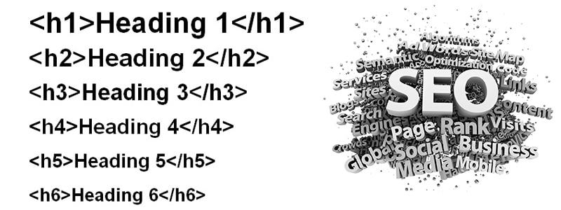 از لحاظ SEO تاثیر تگ هدینگ چیست
