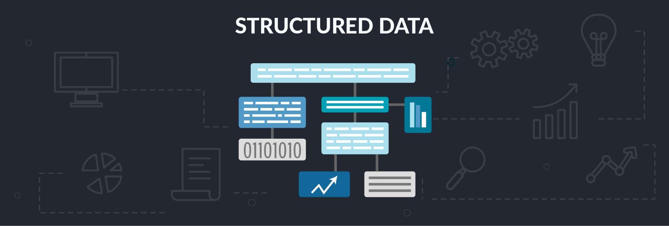 نحوه استفاده از داده ساخت یافته