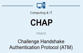 امن کردن اطلاعات با استفاده از Challenge Handshake Authentication Protocol