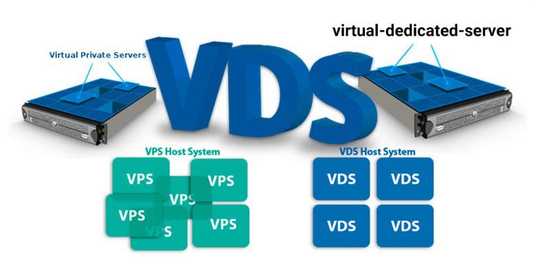 تفاوت سرورهای VPS و VDS