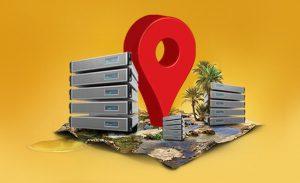 جمع بندی موقعیت جغرافیایی سرور مجازی