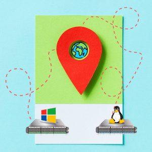 موقعیت جغرافیایی سرور مجازی