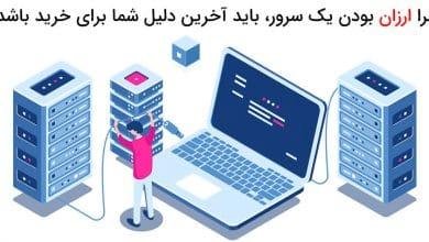 سرور مجازی ارزان ایران جهت دانلود و آپلود