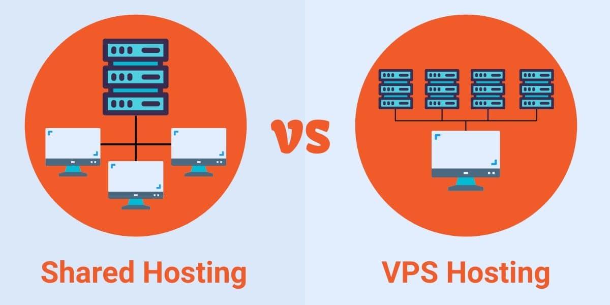 مزایای vps به میزبانی اشتراکی