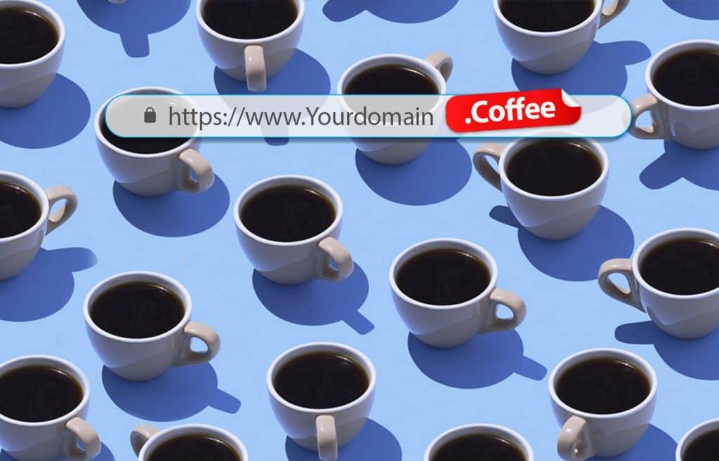 ثبت دامنه coffee