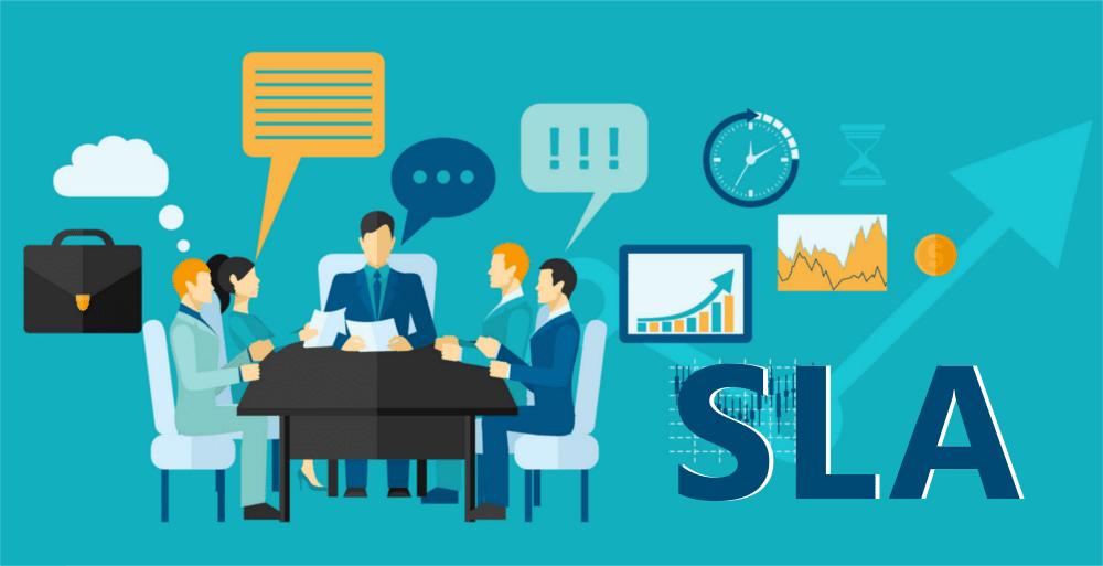کیفیت خدمات درخواست sla
