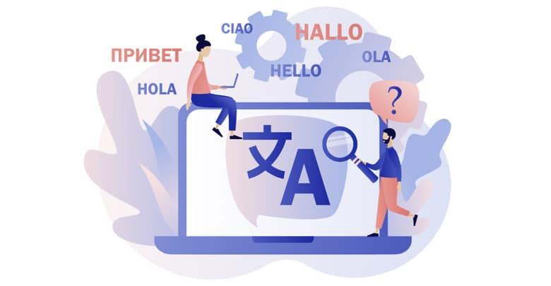 طراحی سایت با وردپرس بصورت Multilingual