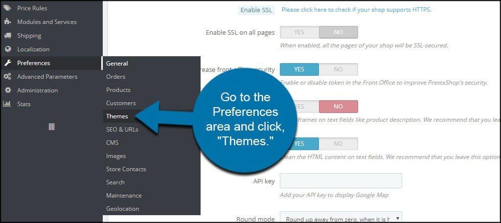 آموزش نصب قالب در پرستاشاپ PrestaShop