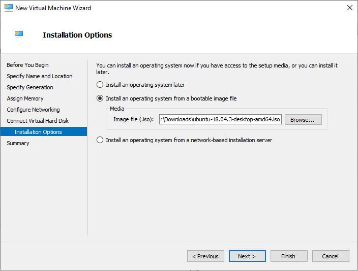 انتخاب سیستم عامل برای ماشین مجازی