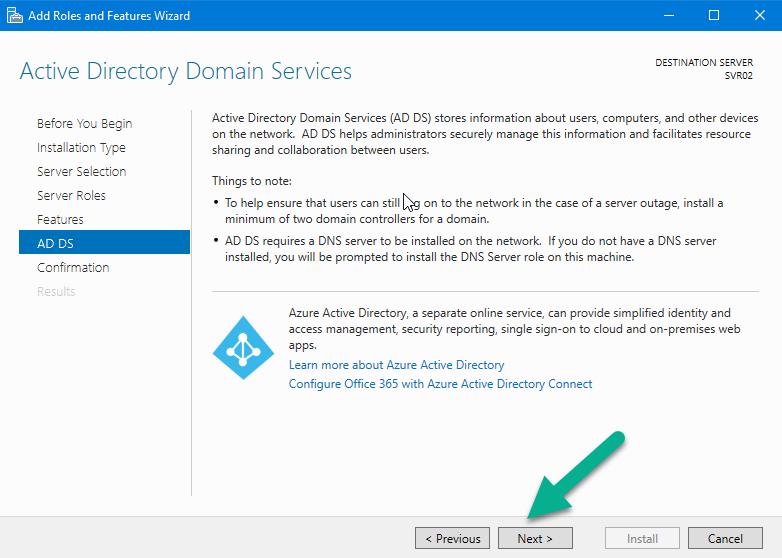 آموزش Active directory در ویندوز سرور 2016