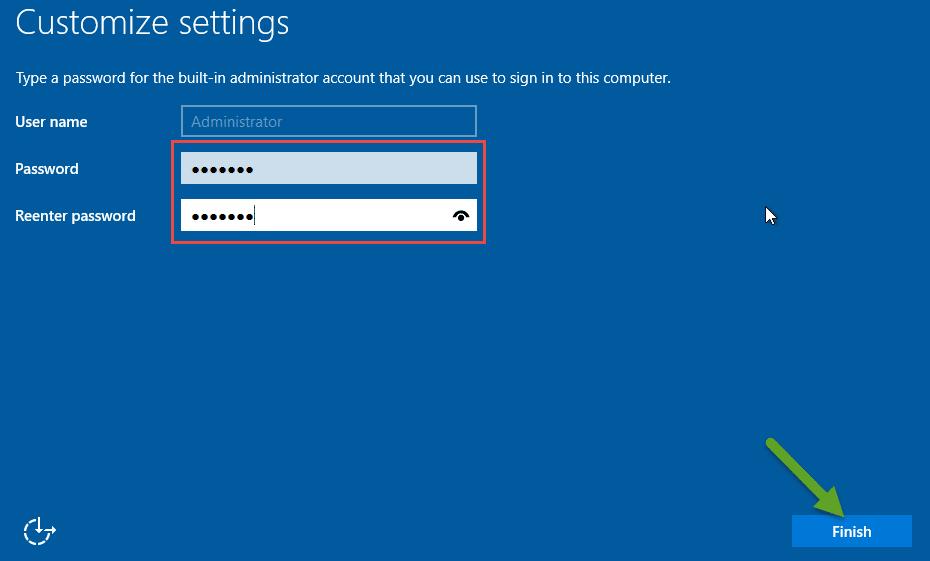 customize setting