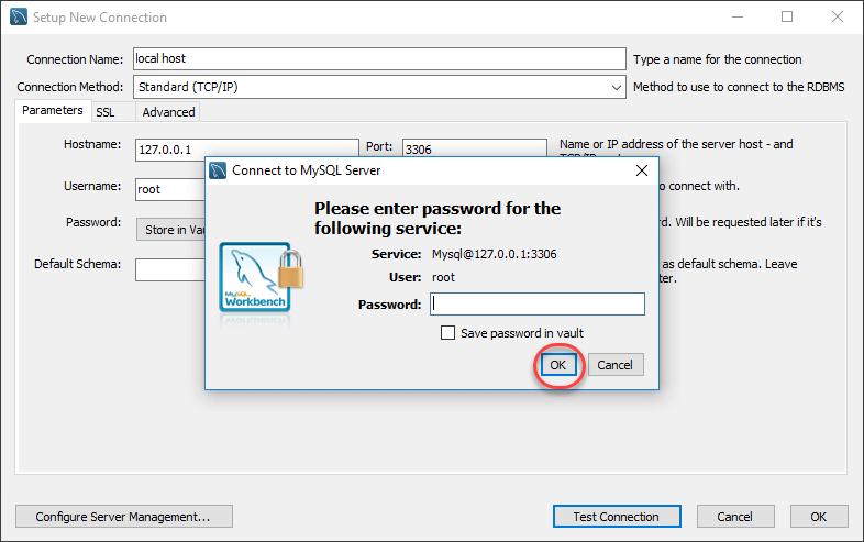 صفحه لاگین برای شما نمایش داده میشود که نیاز به پسورد یوزر root خواهد داشت