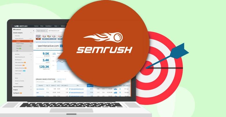 تحقیق کلمات کلیدی با SEMrush