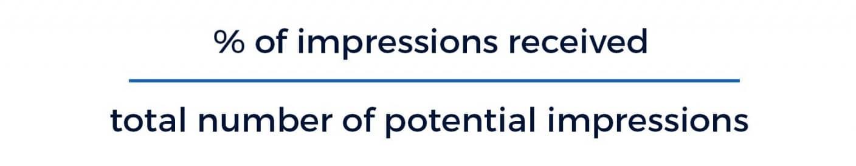 Impression Share یا سهم نمایش تبلیغ چیست ؟