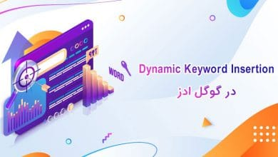 dynamic keyword insertion در گوگل ادز