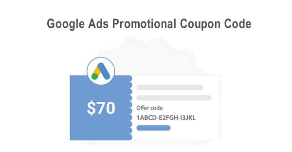 Google Ads Promotional Coupon Code - اصطلاحات گوگل ادز