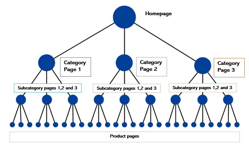 شناسایی صفحات اصلی وب سایت