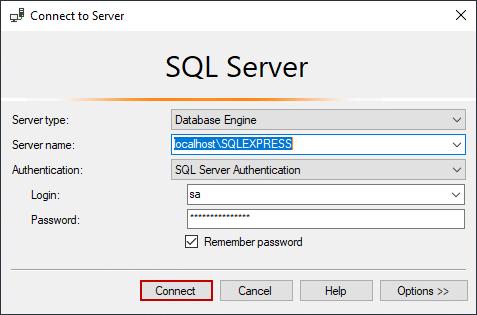 اتصال ssms به سرور