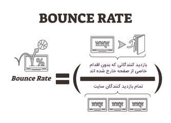 فرمول Bounce Rate