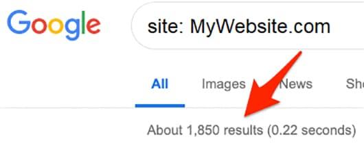 نحوه بررسی ایندکس شدن سایت در گوگل