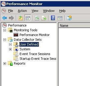 ایجاد System Performance template