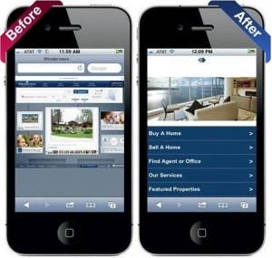 بهبودرتبه بندی نسخه موبایلی سایت